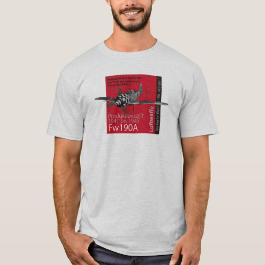 "Aviation Art T-shirt ""Focke-Wulf Fw 190"" Tシャツ"