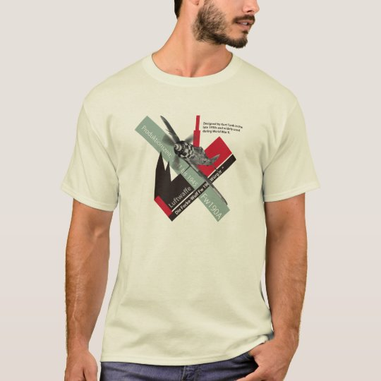 "Aviation Art T-shirt ""Focke-Wulf Fw 190"" Tシャツ"