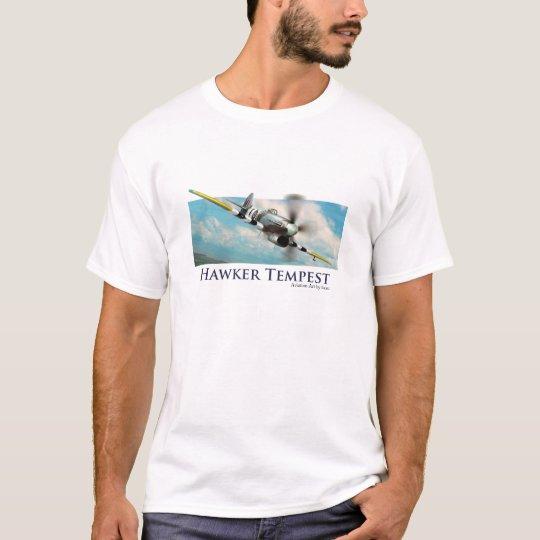 "Aviation Art T-shirt ""Hawker Tempest"" Tシャツ"