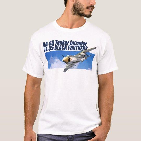 """Aviation Art T-shirt """"KA-6D Tanker Intruder  """" Tシャツ"""