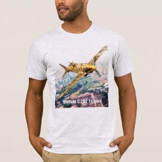 "Aviation Art T-shirt ""Macchi C.202 Folgore"" Tシャツ"