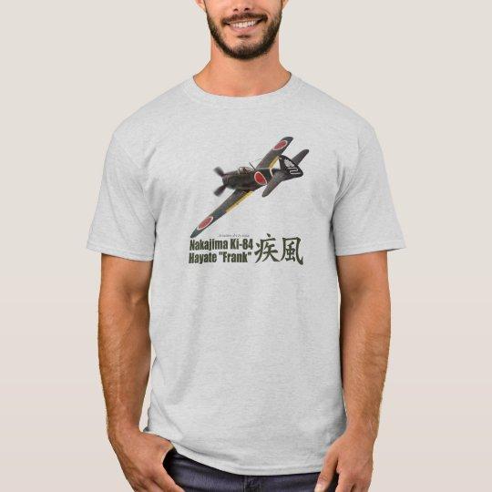 """Aviation Art T-shirt """"Nakajima Ki-84 Frank"""" Tシャツ"""
