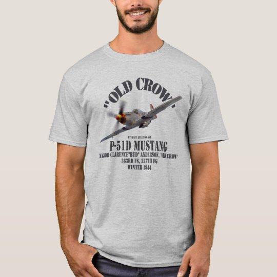 """Aviation Art T-shirt """"P-51 Mustang"""" Tシャツ"""