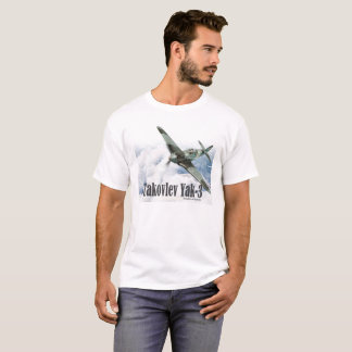 "Aviation Art T-shirt ""Yakovlev Yak-3"" Tシャツ"