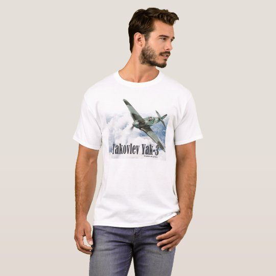 "Aviation Art T-shirt ""Yakovlev Yak-3"" Tシャツ"