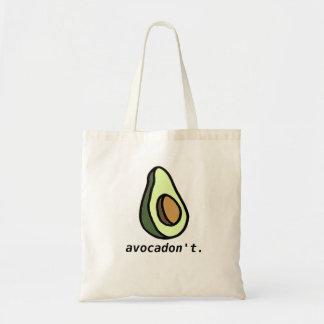 Avocadon'tの戦闘状況表示板 トートバッグ
