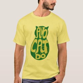 AvoCatdoのアボカド猫 Tシャツ
