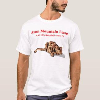 Avonのオオヤマネコ- AAUのワイシャツ Tシャツ