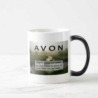 AVONのコーヒー・マグ モーフィングマグカップ