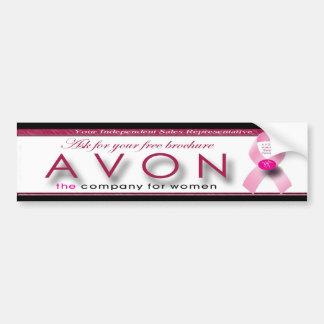 AVONのバンパーステッカーはあなたの自由なパンフレットを頼みます バンパーステッカー