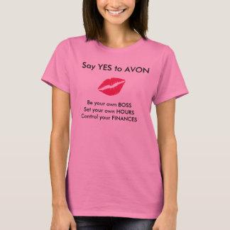 Avonの募集のティー Tシャツ