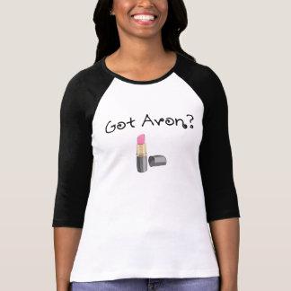 Avonの得られたワイシャツ- 3/4本の袖 tシャツ