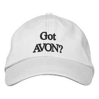 Avonの得られた帽子 刺繍入りキャップ