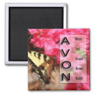AVONの正方形の磁石 マグネット