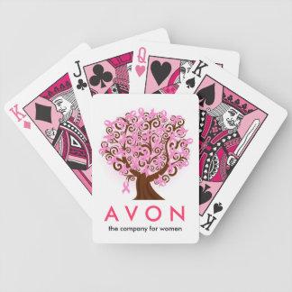 AVONは乳癌の研究を支えます バイスクルトランプ