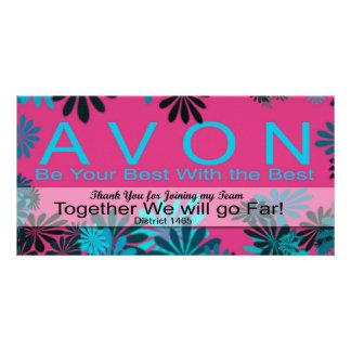AVONは私のチームカードを結合するために感謝していしています カード