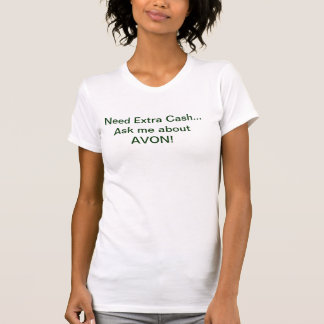 AVONタンクトップの必要性の余分現金 Tシャツ