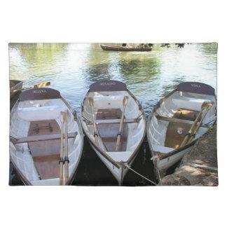 Avon、イギリスにStratfordの漕艇 ランチョンマット