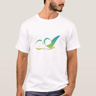 Avuarの混合物の信号器のTシャツバーガンディ Tシャツ
