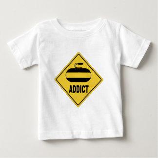 AWのカール ベビーTシャツ