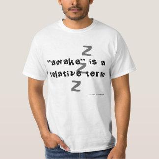 awake相対的な言葉です tシャツ