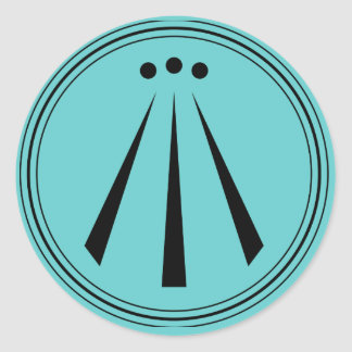 Awen -楽師のインスピレーション ラウンドシール
