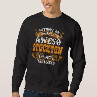 Aweso STOCKTON本当の生きている伝説 スウェットシャツ