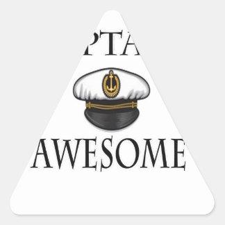 awesome大尉 三角形シール