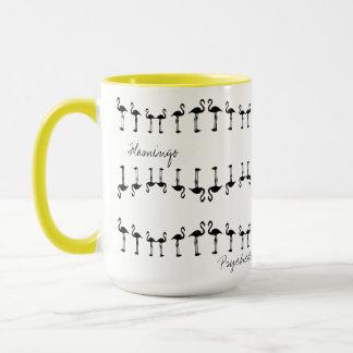 Awesome Psychedelic Flamingo Coffee / Tea Mug Cup マグカップ