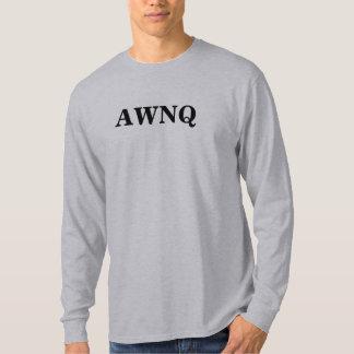 AWNQの長袖 Tシャツ