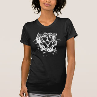 Axtelera光線のスーパーヒーローのTシャツ Tシャツ