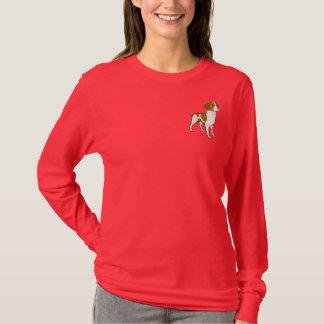 AY-かわいいブリッタニースパニエル犬のワイシャツ Tシャツ