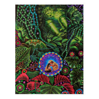 Ayahuascaの視野 ポストカード