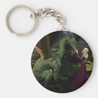 Ayanaおよびドラゴン キーホルダー
