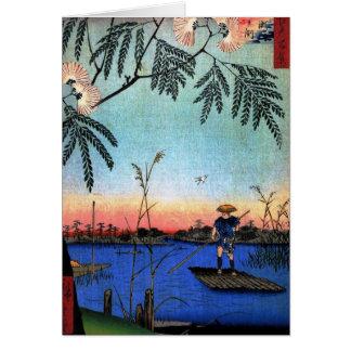 Ayaseの川およびKanegafuchi (綾瀬川鐘か淵) カード