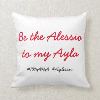 Aylaの私の枕へAlessioでであって下さい クッション