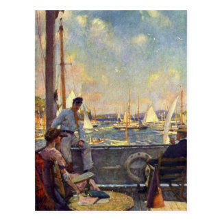 Aylwardの海の冒険 ポストカード