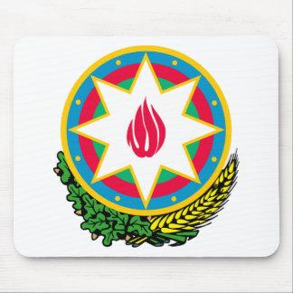 AZアゼルバイジャンの紋章付き外衣 マウスパッド