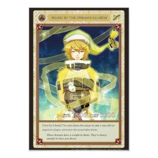 AZ card - Bound by the Dream's Illusion 8.9 X 12.7 インビテーションカード