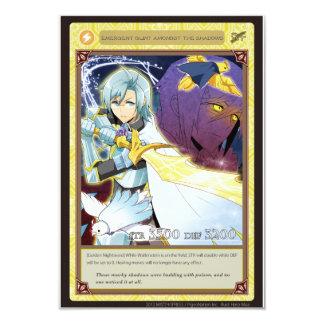AZ card - Emergent Glint 8.9 X 12.7 インビテーションカード
