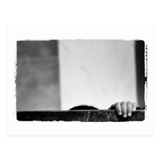 azaの白黒写真撮影 ポストカード