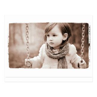 aza色のセピア色の写真撮影 ポストカード