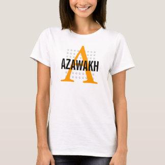 Azawakhの品種モノグラム Tシャツ