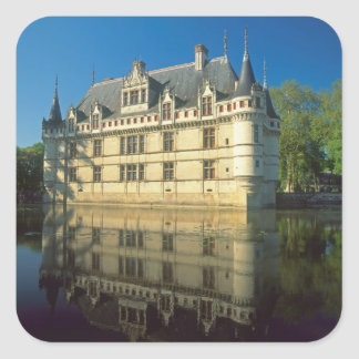 Azay leRideauの館、Indre-et-Loire、 スクエアシール
