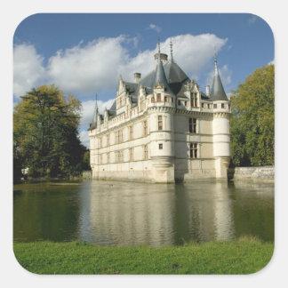 Azay leRideauの館、Indre-et-Loire、2 スクエアシール