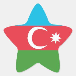 Azerbaijao 星シール