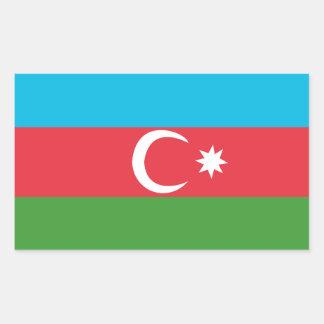 Azerbaijao 長方形シール