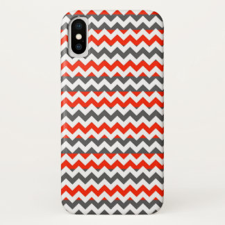 Aztec Chevron Zigzag Stripe Pattern iPhone X ケース