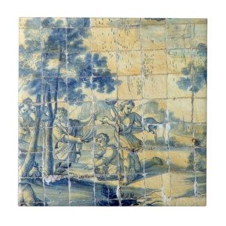 Azulejoのタイルのピクニック タイル