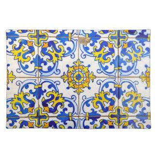 Azulejosのセラミックタイル ランチョンマット